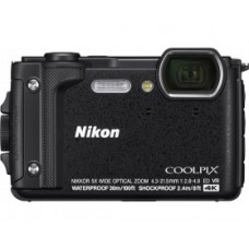 Фотокамера Nikon Coolpix W300 Black (VQA070E1)