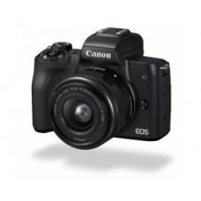 Фотокамера беззеркальная Canon EOS M50 + 15-45 IS STM Kit Black (2680C060)